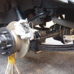 110 Rear Axle Fitted