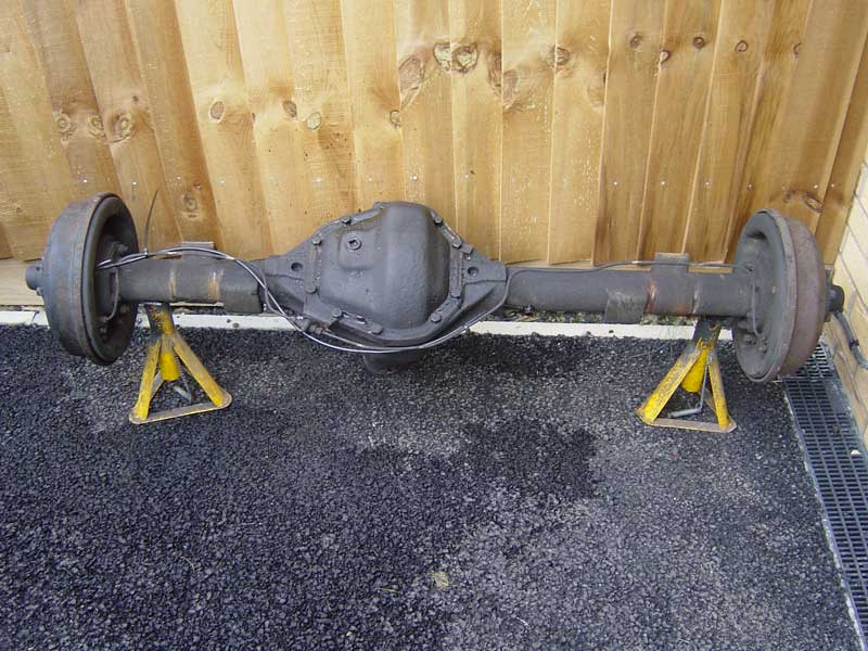 110 Rear Axle Fitted Nick S Land Rover Series Iii
