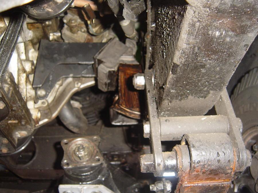 109 Engine Mounting Nick S Land Rover Series Iii