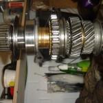 main shaft minus 1st gear wheel