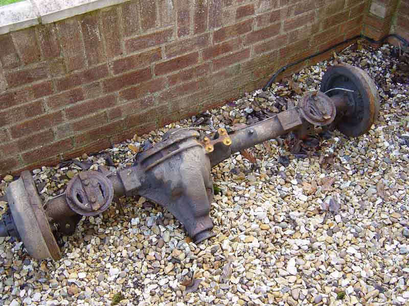 Salisbury Rear Axle : Gearing up for the next mod — nick s land rover series