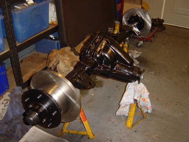 Salisbury Rear Axle : Salisbury rear axle part — nick s land rover