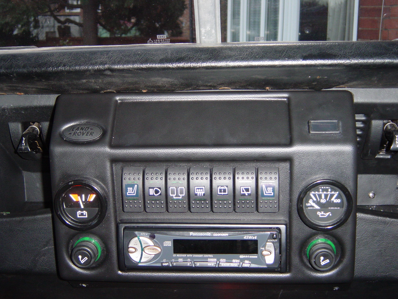 Mudstuff Dash Console Nick S Land Rover Series Iii