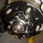 Fitting Alloys to a 200Tdi Salisbury Axle