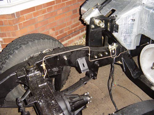 Brake Pipes Nick S Land Rover Series Iii Rebuild And
