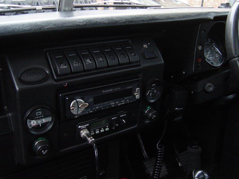CB Radio Installed — Nick's Land Rover – Series III rebuild