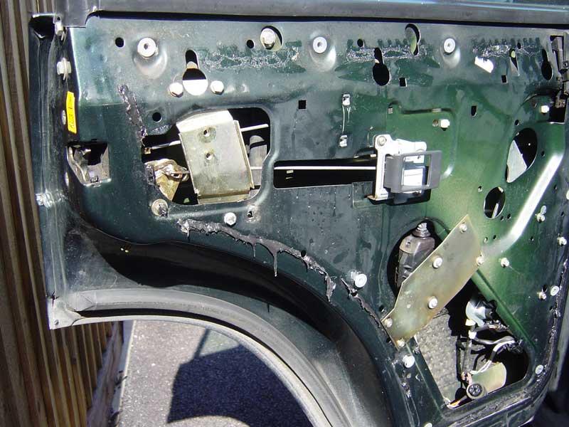Range Rover Classic Discovery I Door Lock Repair Nicks Land