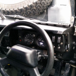 Daylight view of the new Steering Wheel and Column