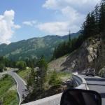 descending to the Italian border