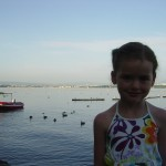Thea and Lake Leman