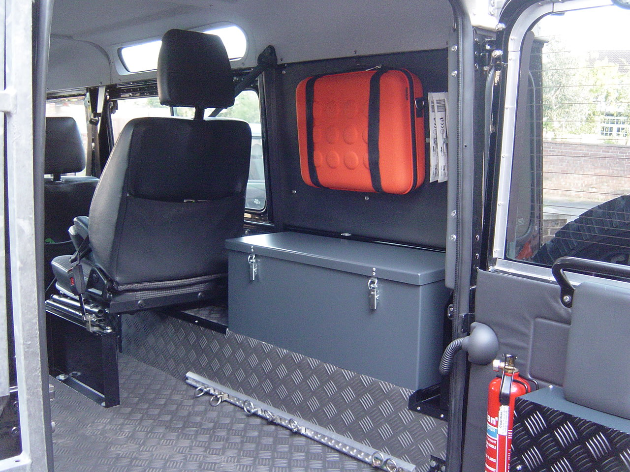 Less Seats More Storage Nick S Land Rover Series Iii