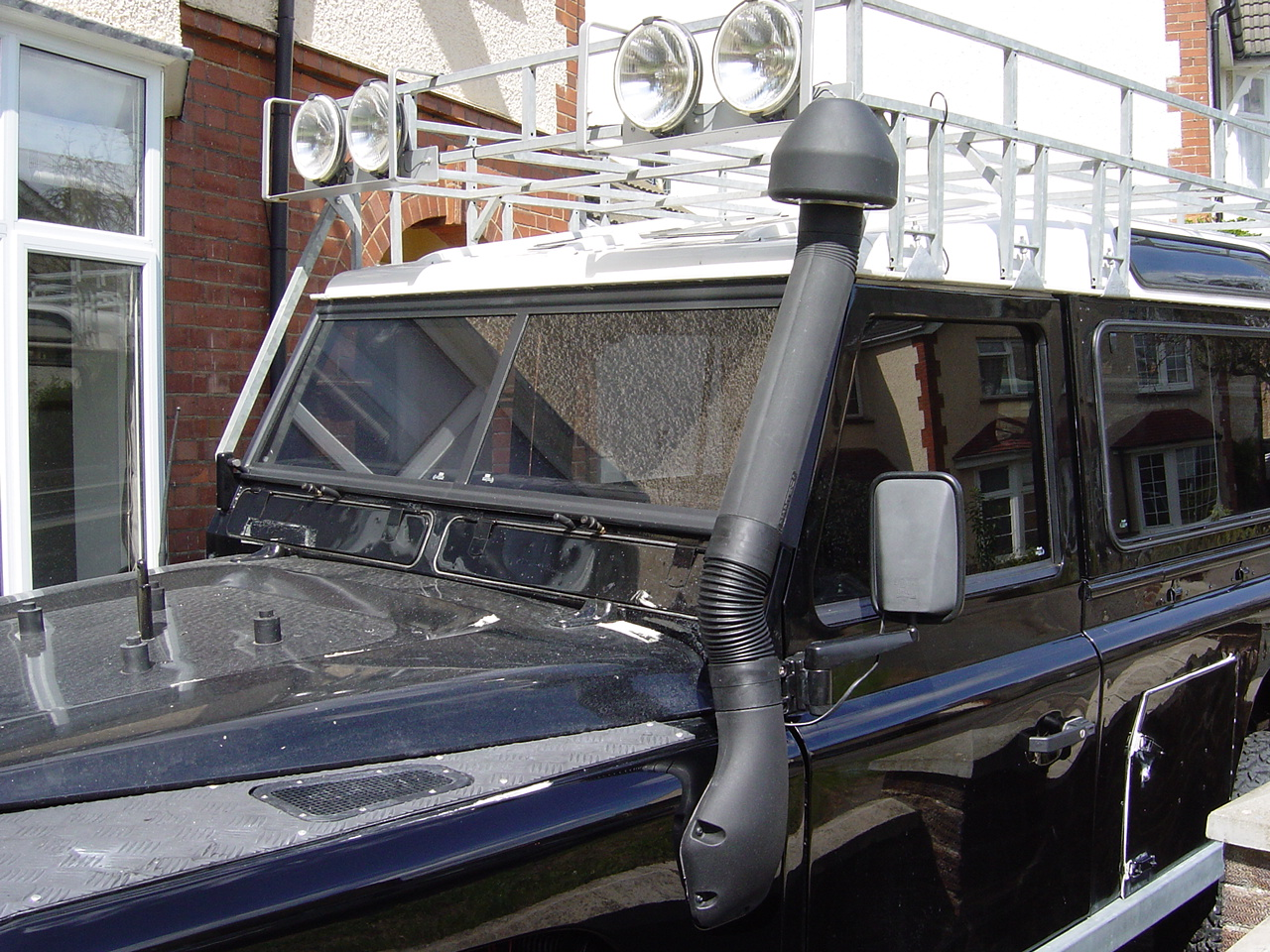 Fitting The Snorkel Nick S Land Rover Series Iii